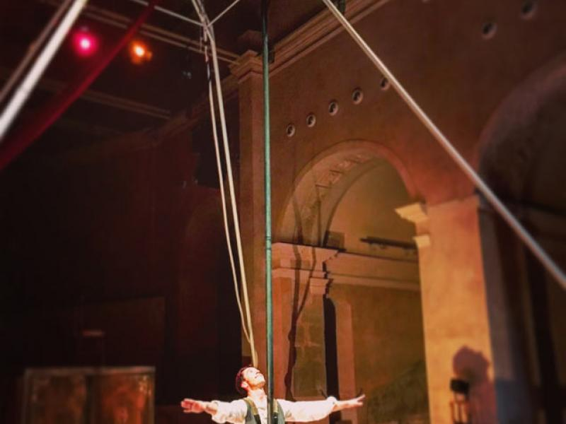 Cia. Passabarret estrena 'Josafat', l'adaptació circense de la novel·la de Prudenci Bertrana