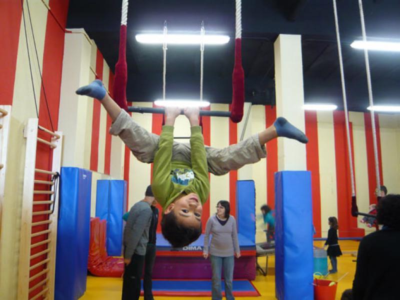 Inscripcions obertes pel curs 2016-17 a La Circoteca: infants, joves i adults