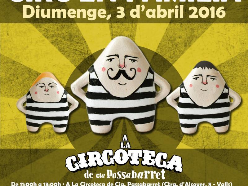 El darrer 'Circ en Família' arriba aquest diumenge a La Circoteca