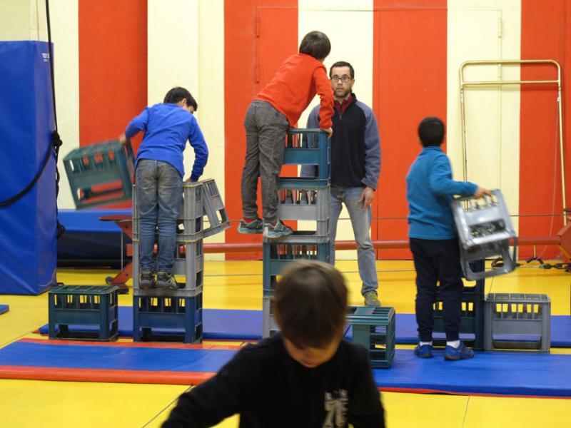 Arrenquen les inscripcions a l'Escola de Circ de la Circoteca, curs 2017-2018
