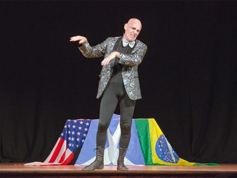 El llegendari clown Johnny Melville actuarà a La Circoteca amb el seu nou espectacle